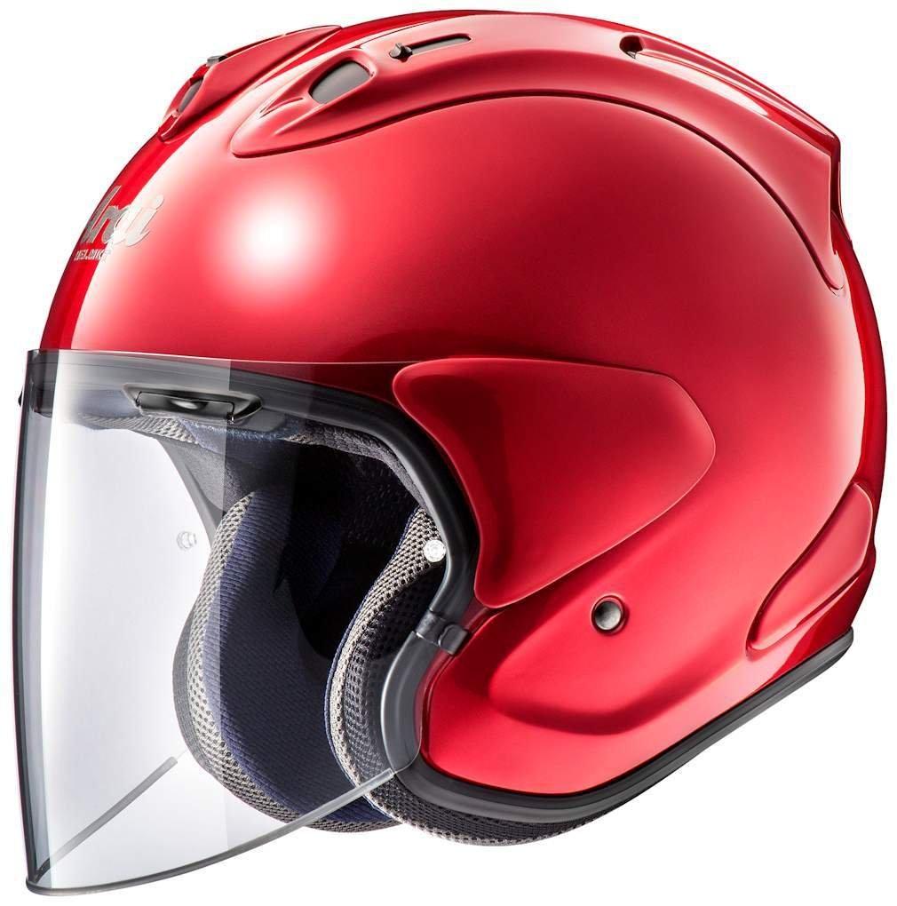 アライ (ARAI) ジェットヘルメット VZ-RAM (VZ-ラム) カームレッド (つや消し) 61-62cm