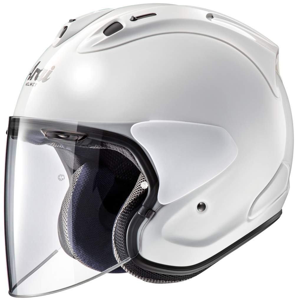 アライ (ARAI) ジェットヘルメット VZ-RAM (VZ-ラム) グラスホワイト 55-56cm