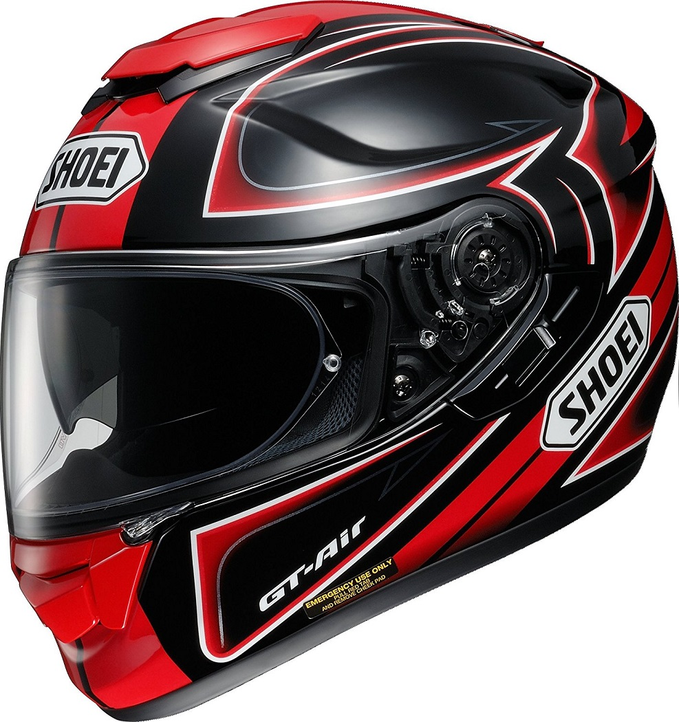 ショウエイ(SHOEI) バイクヘルメット フルフェイス GT-Air EXPANSE(エクスパンス) TC-1 (RED/BLACK)