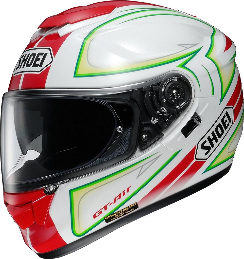 ショウエイ(SHOEI) バイクヘルメット フルフェイス GT-Air EXPANSE(エクスパンス) TC-10 (RED/GREEN)
