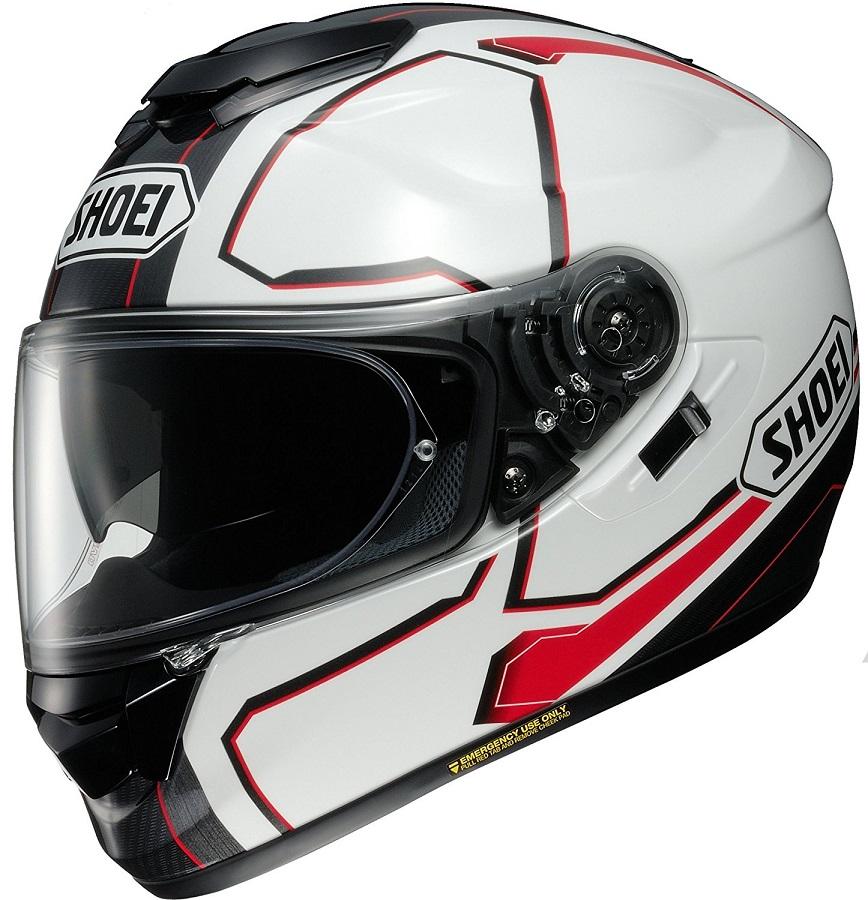 ショウエイ(SHOEI) バイクヘルメット フルフェイス GT-AIR PENDULUM(ペンデュラム) XLサイズ TC-6 (WHITE/RED) 4512048463007