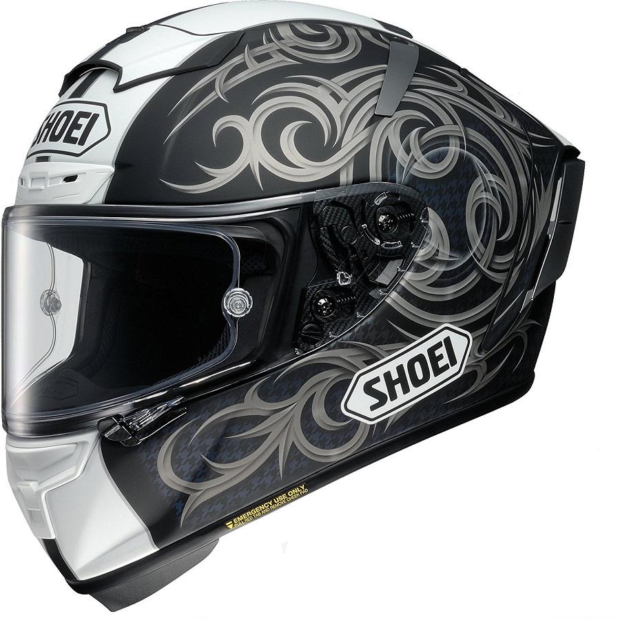 ショウエイ(SHOEI) バイクヘルメット フルフェイス X-Fourteen KAGAYAMA5(カガヤマ5) TC-5(GREY/BLACK)マットカラー