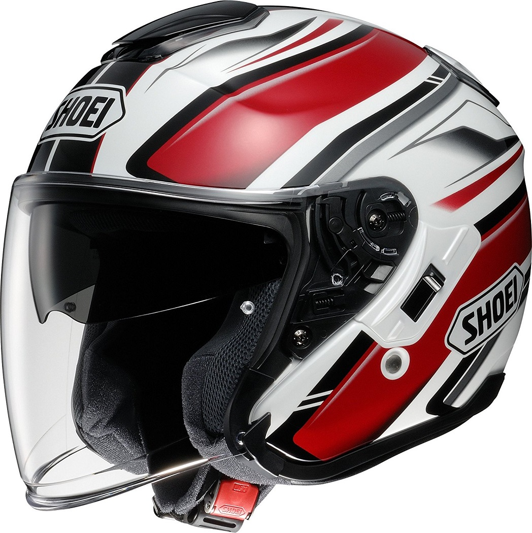 J-CRUISE PASSE TC-1(RED/WHITE) Mサイズ バイクヘルメット ジェット