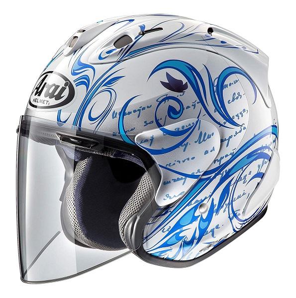 アライ(ARAI) バイクヘルメット ジェット SZ-Ram4X (ラム4X) スタイル 青