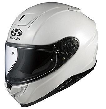 オージーケーカブト(OGK KABUTO)バイクヘルメット フルフェイス AEROBLADE5 パールホワイト L