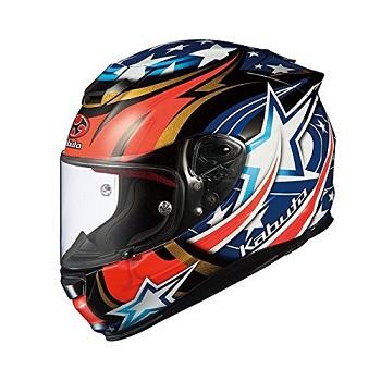 オージーケーカブト(OGK KABUTO)バイクヘルメット フルフェイス RT-33 ACTIVE STAR (アクティブスター) ブラック Lサイズ