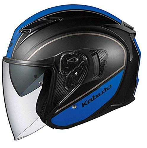 オージーケーカブト(OGK KABUTO) バイクヘルメット ジェット EXCEED DELIE(デリエ) ホワイトブラック S