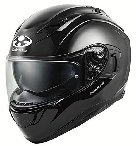 オージーケーカブト(OGK KABUTO)バイクヘルメット フルフェイス KAMUI3 ブラックメタリック Mサイズ