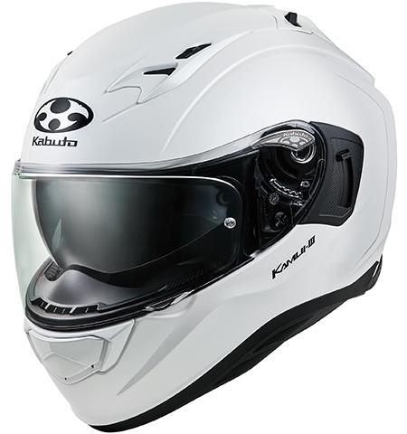 オージーケーカブト(OGK KABUTO)バイクヘルメット フルフェイス KAMUI3 パールホワイト Lサイズ
