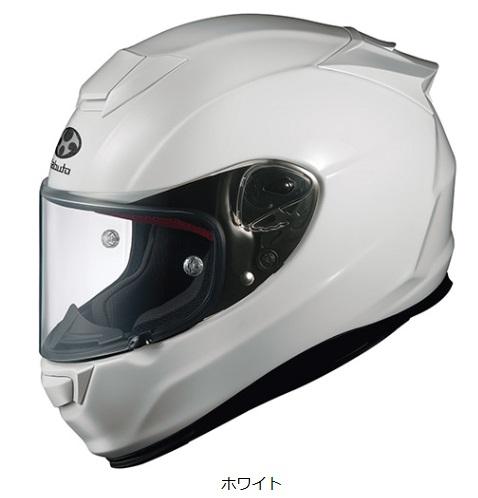 オージーケーカブト(OGK KABUTO)バイクヘルメット フルフェイス RT-33 ホワイト Lサイズ