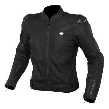 アーバンスタイルのフルメッシュジャケット コミネ KOMINE JK-147 BLACK メーカー公式 M プロテクトストリートメッシュジャケット 安心の定価販売