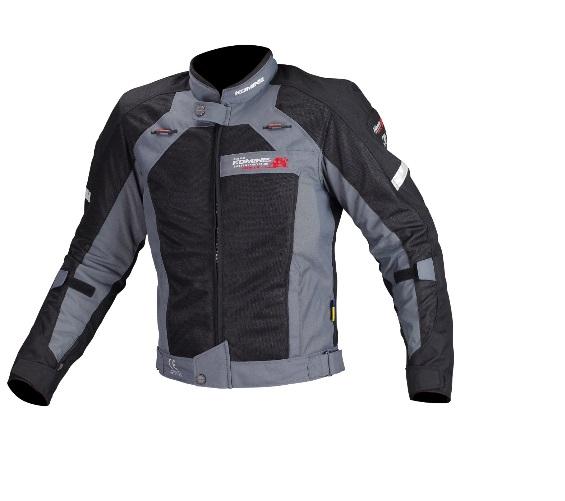 コミネ(KOMINE) JJ-002 エアストリームメッシュジャケット Black 2XLサイズ
