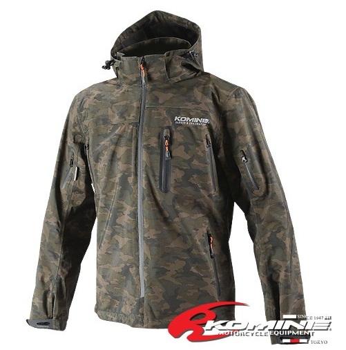コミネ(KOMINE) JK-555 WPプロテクション3L-パーカ Camouflage/2XLサイズ
