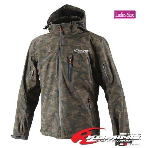 コミネ(KOMINE) JK-555 WPプロテクション3L-パーカ Camouflage/WMサイズ