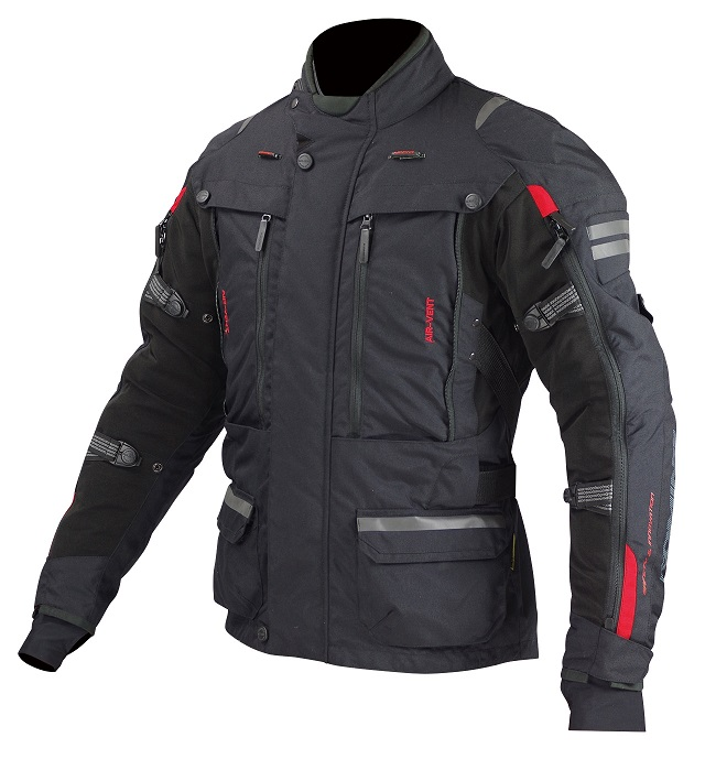 コミネ(KOMINE) JK-574 フルイヤーツーリングジャケット-ラーマ2 Black 4XLサイズ