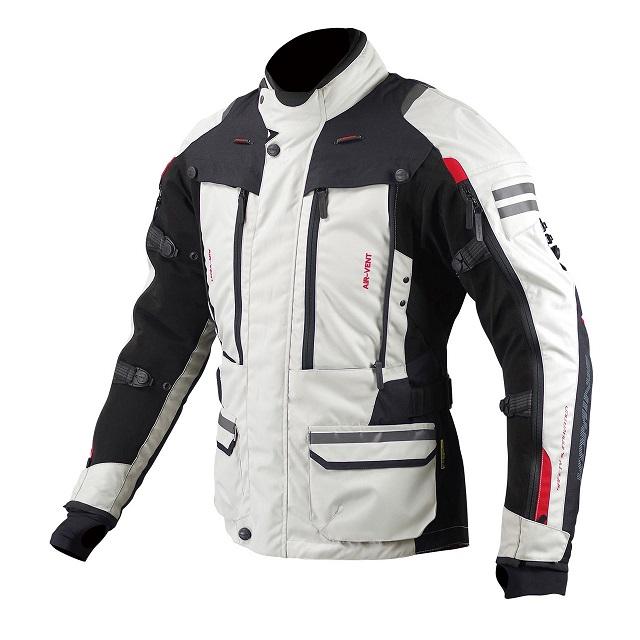 出群 自在に付け替えられる2種類の着脱可能ライナーを持つ3レイヤー構造のオールシーズンジャケット コミネ KOMINE JK-574 2020 2XLサイズ Black フルイヤーツーリングジャケット-ラーマ2 Ivory