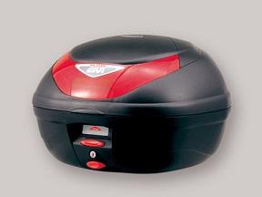 DAYTONA GIVI モノロックケース E350 FLOW 未塗装ブラック