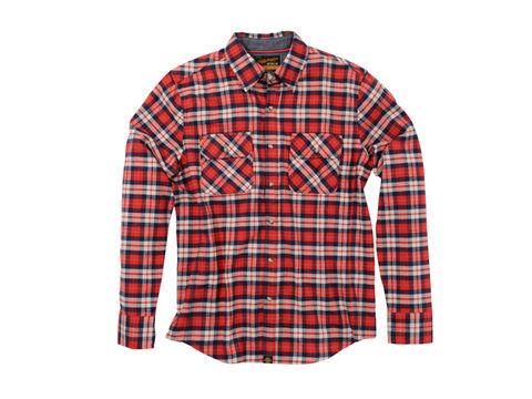 NHB1504 ネルシャツ レッド L