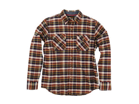 DAYTONA (デイトナ) NHB1504 ネルシャツ ブラウン L