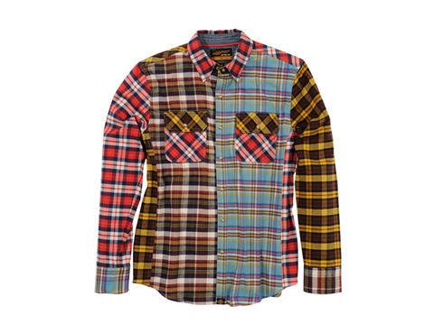 DAYTONA (デイトナ) NHB1504 ネルシャツ クレイジーMIX M