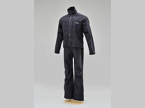 HR-001 マイクロレインスーツ ブラック L