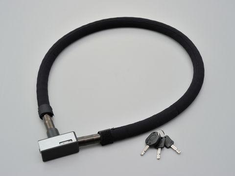 ストロンガースチールリンクロック キーロックタイプ 1200mm/シルバー