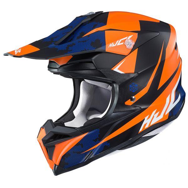 HJC(エイチジェイシー)バイクヘルメット オフロード HJH178 i50 TONA(トナ) ORANGE(MC7SF) サイズ:M (57-58)