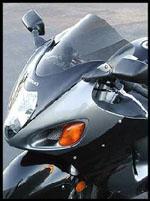 ゼログラビティスズキ GSX1300R隼用スクリーンダブルバブル(99~07)ダークスモーク