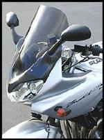 ゼログラビティスズキGSF1200S/BANDIT(00~05)国内用スクリーン スポーツツーリング ダークスモーク