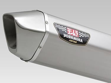 ヨシムラ(YOSHIMURA) バイクマフラー スリップオン HEPTA FORCE サイクロン 政府認証 STS チタンカバー/ステンレスエンド BANDIT1250 ABS BANDIT1250S ABS BANDIT1250F ABS 110-177-L08C0 バイク オートバイ