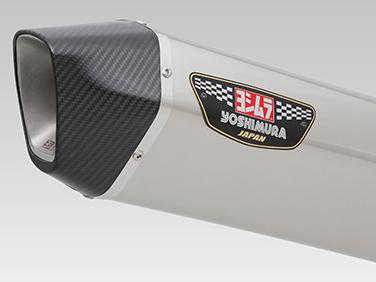ヨシムラ(YOSHIMURA) バイクマフラー スリップオン HEPTA FORCE サイクロン 政府認証 SSC ステンレスカバー/カーボンエンド BANDIT1250 ABS BANDIT1250S ABS BANDIT1250F ABS 110-177-L05G0 バイク オートバイ
