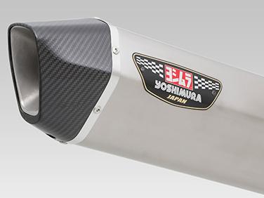 ヨシムラ(YOSHIMURA) バイクマフラー スリップオン HEPTA FORCE サイクロン 政府認証 STC チタンカバー/カーボンエンド BANDIT1250 ABS BANDIT1250S ABS BANDIT1250F ABS 110-177-L08G0 バイク オートバイ