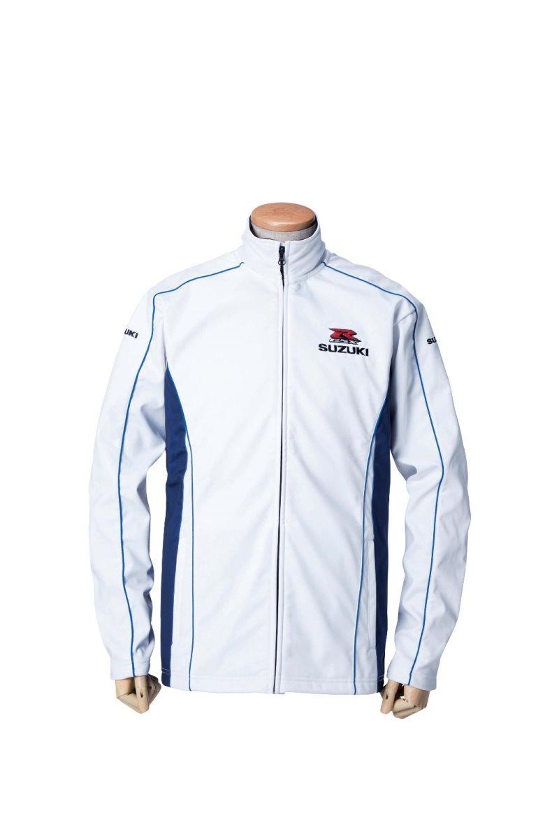 スズキコレクション GSX-R フリース ホワイト サイズ S