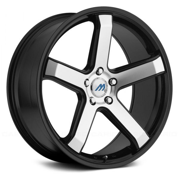 2CRAVE MACH5 Glossy Black /Machined Face 19x9.5J Offset +35 PCD 5x114.3 ハブ径 72.56 ホイール4本セット