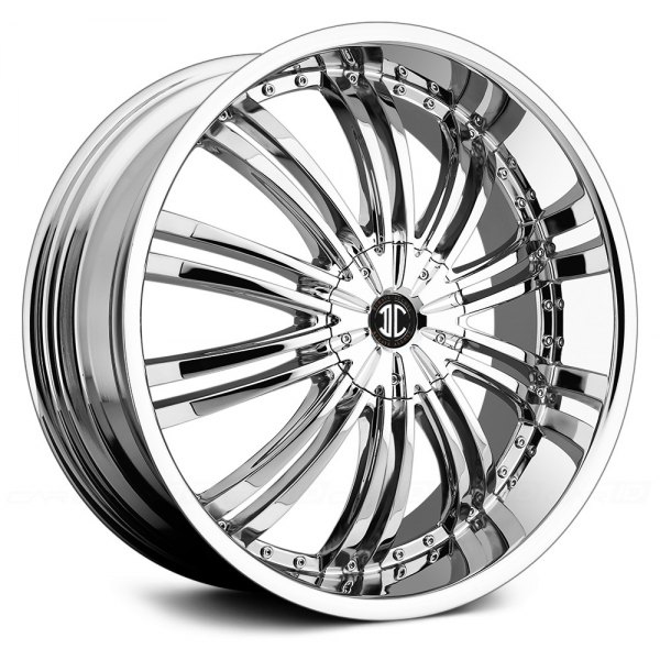 2Crave No.1 Chrome 15X7J Offset +45 PCD 4x100 ハブ径 72mm ホイール4本セット