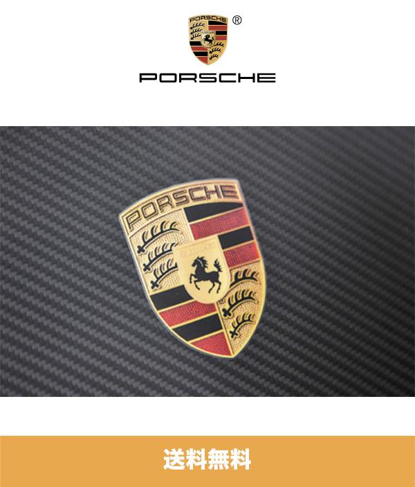 2020年から2021年式 ポルシェ(992)カレラ用ポルシェ ボンネット クレストデカール Porsche Hood Crest Decal (送料無料)