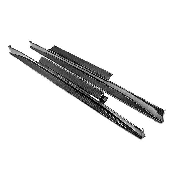 SEIBON アメリカメーカー高品質 日産 GT-R / NISSAN GT-R 2009-2016年モデル用 VSスタイルカーボンサイドスカート / VS-STYLE CARBON FIBER SIDE SKIRTS (送料無料)