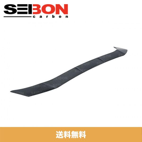 SEIBON アメリカメーカー高品質 トヨタ86 / TOYOTA 86 / スバル BRZ / SUBARU BRZ 2013-2020年モデル用カーボンリアルーフスポイラー / CARBON FIBER REAR ROOF SPOILER (送料無料)