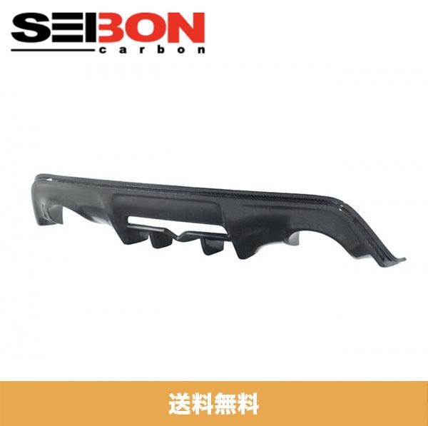 SEIBON アメリカメーカー高品質 トヨタ86 / TOYOTA 86 / スバル BRZ / SUBARU BRZ 2013-2020年モデル用カーボンリアディフューザーカバー / CARBON FIBER REAR DIFFUSER COVER (送料無料)