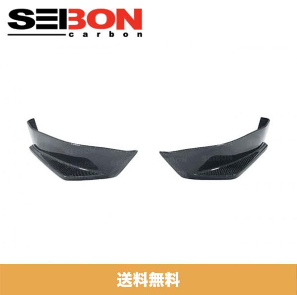 SEIBON アメリカメーカー高品質 トヨタ86 / TOYOTA 86 / スバル BRZ / SUBARU BRZ 2013-2020年モデル用KCスタイルカーボンファイバーリアリップ / KC-STYLE CARBON FIBER REAR LIP (送料無料)