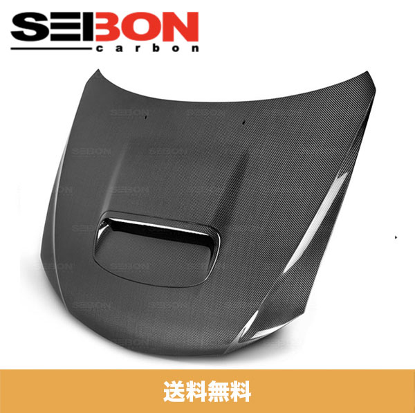SEIBON セイボン OEM-STYLE OEM-スタイル CARBON FIBER カーボンファイバー HOOD ボンネット 2008-2014年式 SUBARU スバル WRX / STI (送料込み)
