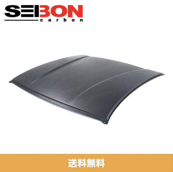 SEIBON アメリカメーカー高品質 トヨタ86 / TOYOTA 86 / スバル BRZ / SUBARU BRZ 2013-2020年モデル用ドライカーボンファイバールーフ / DRY CARBON ROOF REPLACEMENT (送料無料)(ドライカーボン製品はマット仕上げです。)