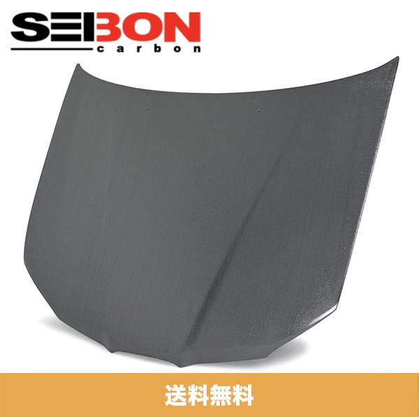 SEIBON セイボン RS-STYLE RS-スタイル SILVER STRING シルバーストリング CARBON HOOD カーボンファイバー 2006-2007年式 SUBARU IMPREZA スバルインプレッサ / WRX / STI (送料無料)