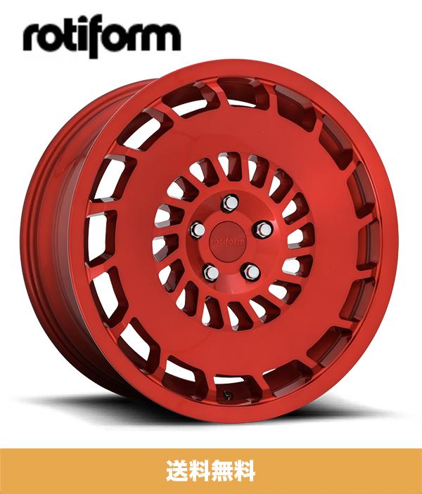 19インチホイール4本セット ロティフォーム Rotiform CCV キャンディーレッド Candy Red 19x8.5J PCD 5x112 フロントリア ホイール4本セット (送料無料)