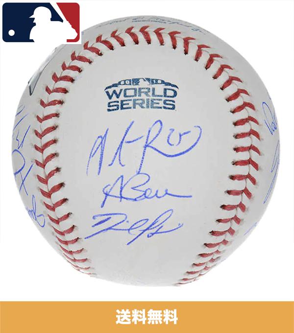 2018年ボストンレッドソックスワールドシリーズチャンピオンの直筆サイン入り野球ボール (送料無料)