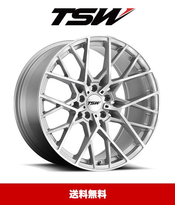 2020年式 マツダ CX-5用TSW セブリング シルバー 本物 ホイール4本セット 20x8.5J 値引き 送料無料 5x114.3 PCD