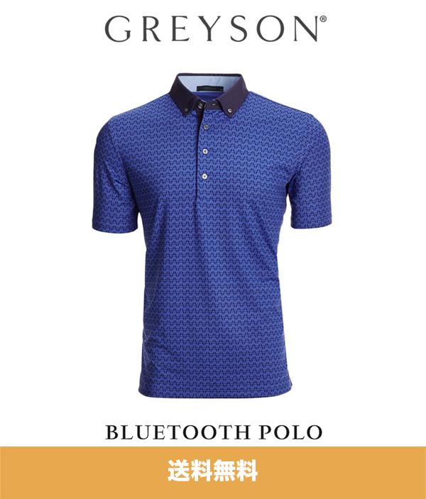 グレイソン ポロシャツ GREYSON BLUETOOTH POLO (アメリカサイズ S1枚) (送料無料)