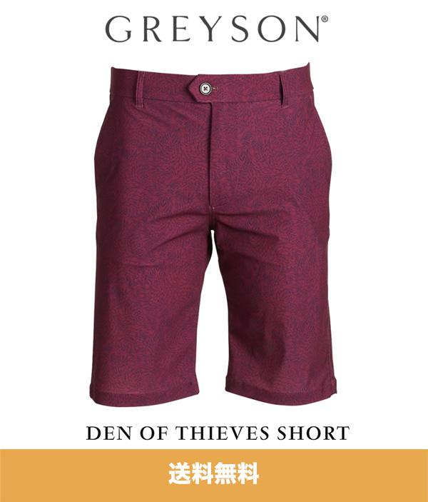 グレイソン ショーツ GREYSON DEN 春の新作シューズ満載 OF 送料無料 商い アメリカサイズ 30インチ1枚 THIEVES SHORT