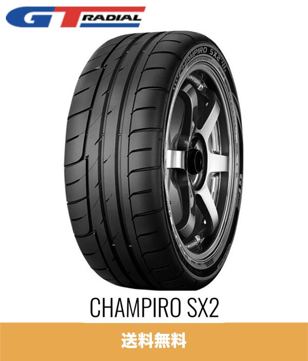 新品1本価格 GT 期間限定の激安セール ラジアル チャンピーロ SX2 235 45R17 94W RADIAL pc x 驚きの値段で 1 CHAMPIRO Tire 送料無料 サマータイヤセット