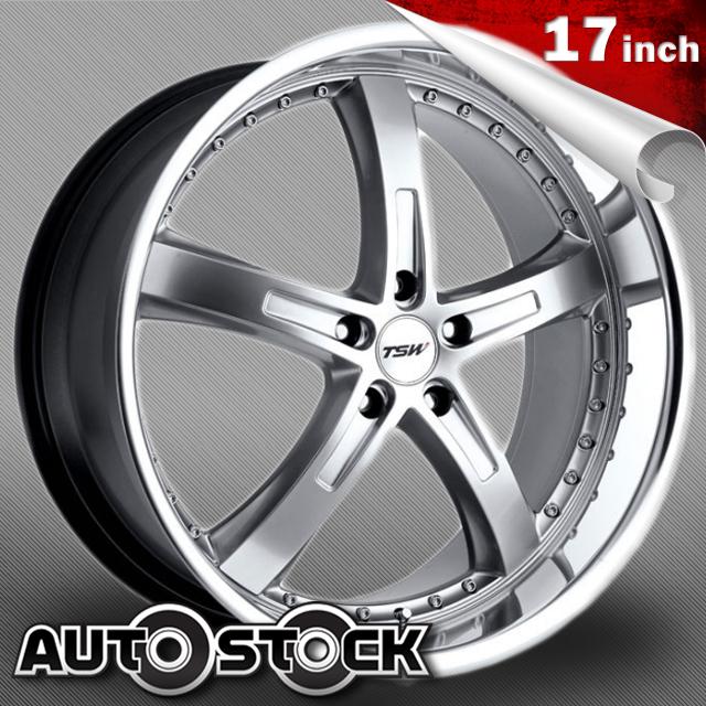 TSW JARAMA (ハラマ) 17インチ タイヤ・ホイールSET Hyper Silver w/ Mirror Cut Lip (ハイパーシルバー/ミラーカットリップ) 【送料無料】【タイヤホイールセット】【TSW Wheel ホイール】